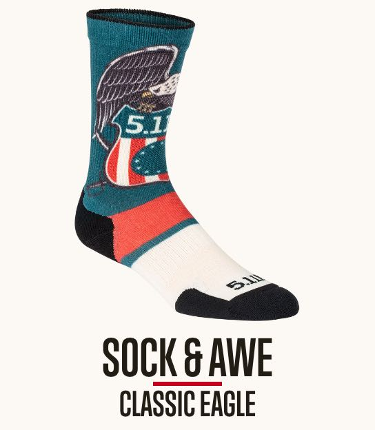 Sock and Awe Classic Eagle