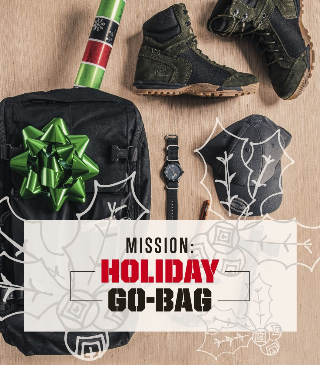 Mission Holiday Go-Bag