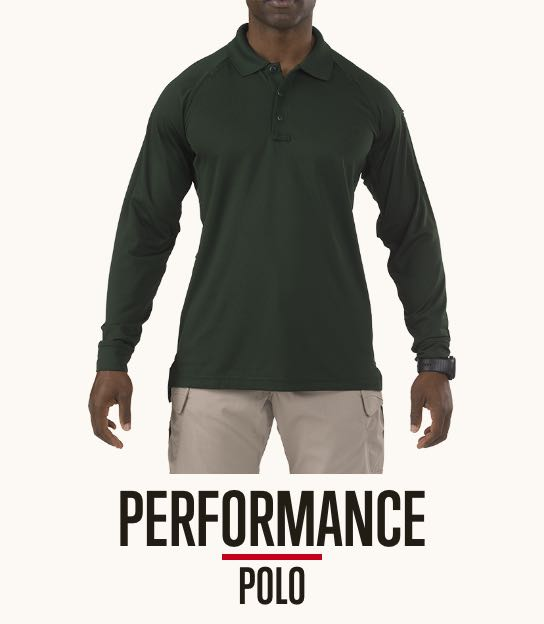 Performance Polo Long Sleeve