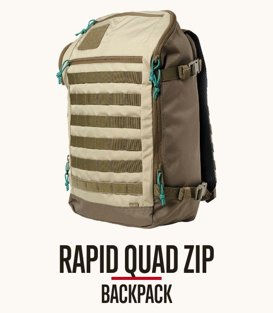 Rapid Quad Zip Backpack
