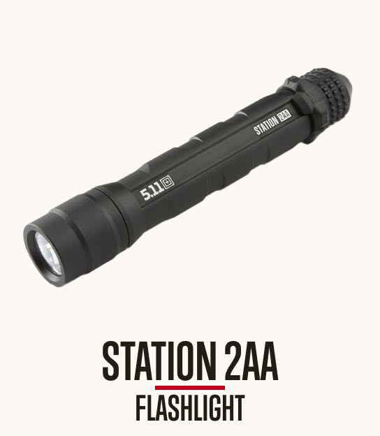 Station 2AA Flashlight