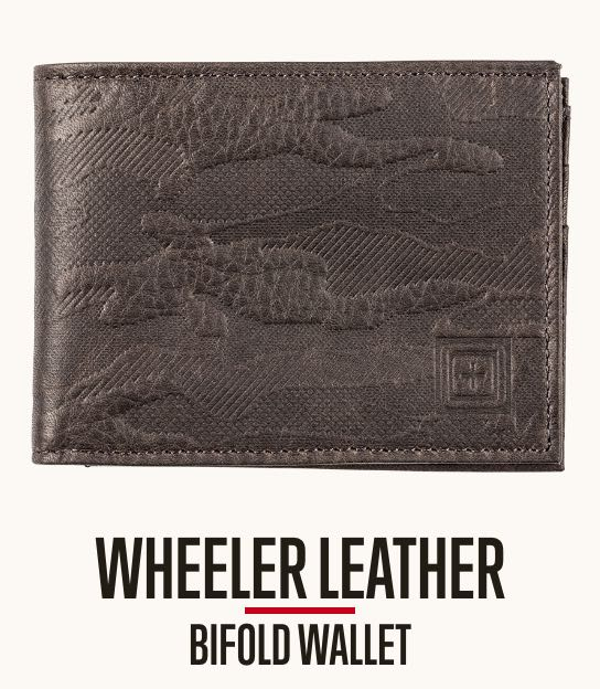Wheeler Leather Wallet