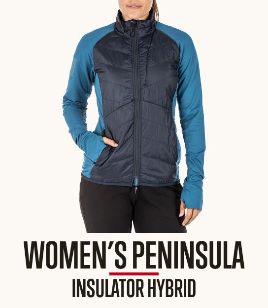 Women's Peninsula Hybrid Jacket