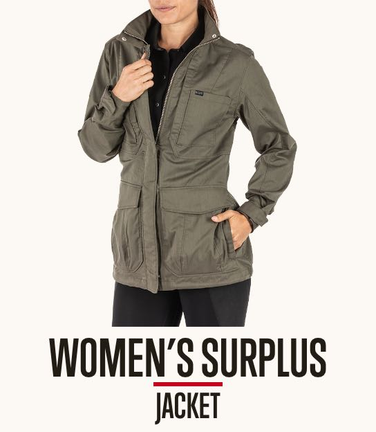 Womens Surplus Jacket