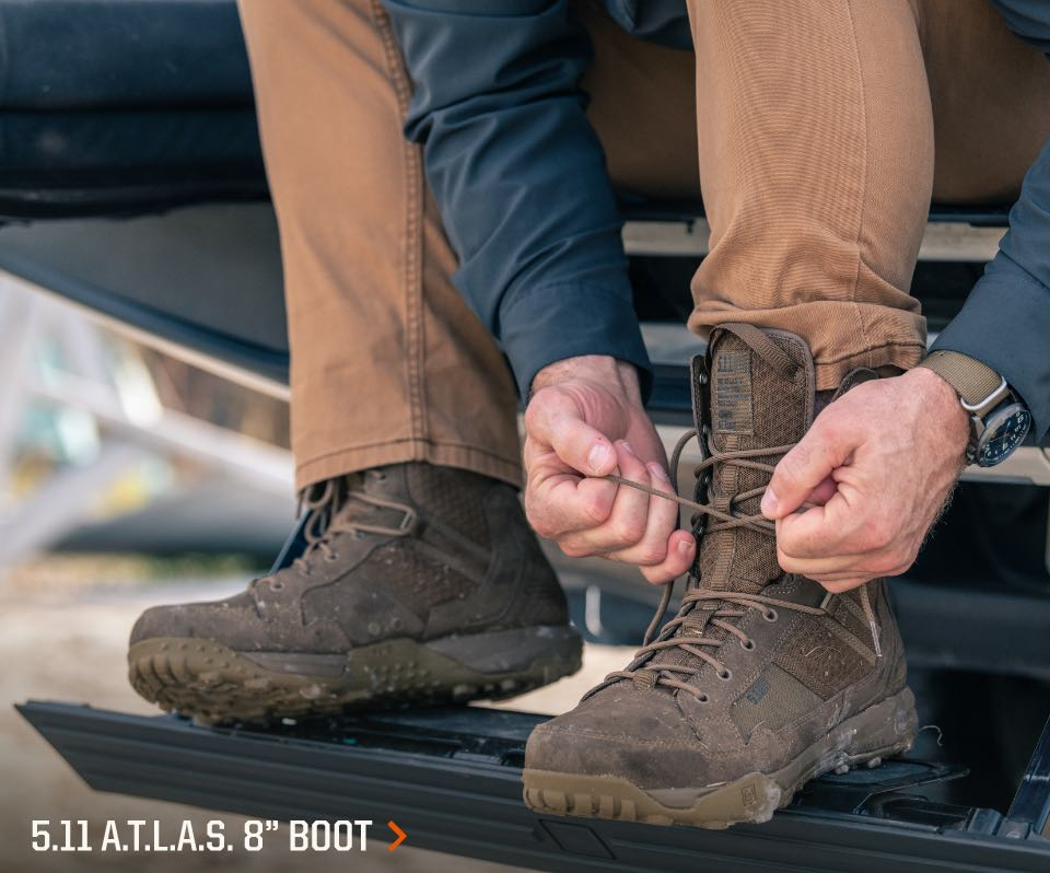 A.T.L.A.S. 8inch Boot