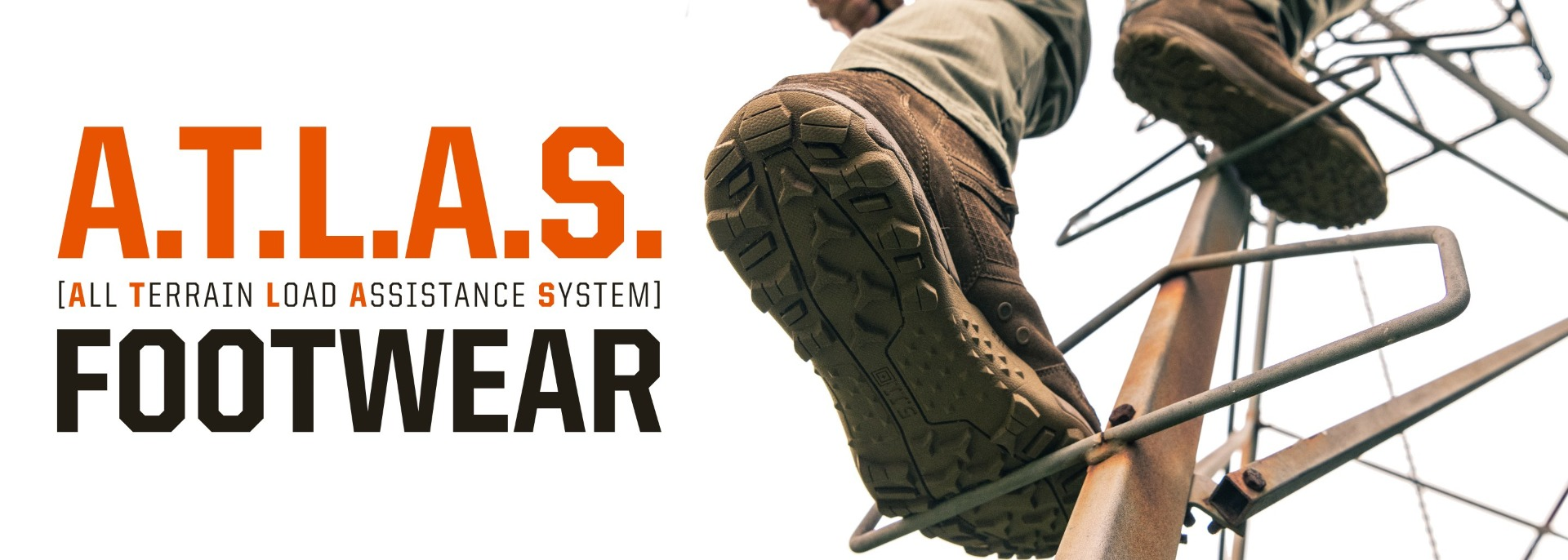 5.11 A.T.L.A.S. (All Terrain Load Assistence System) Footwear