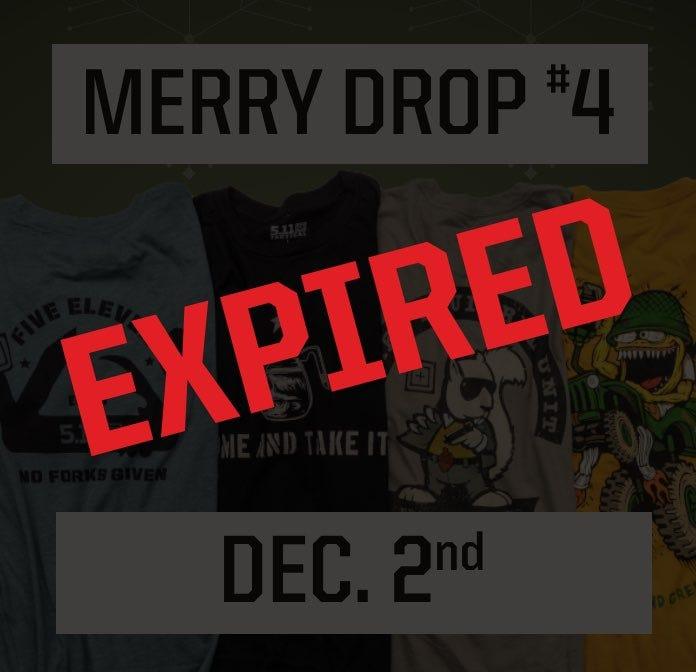 December 2nd Expired