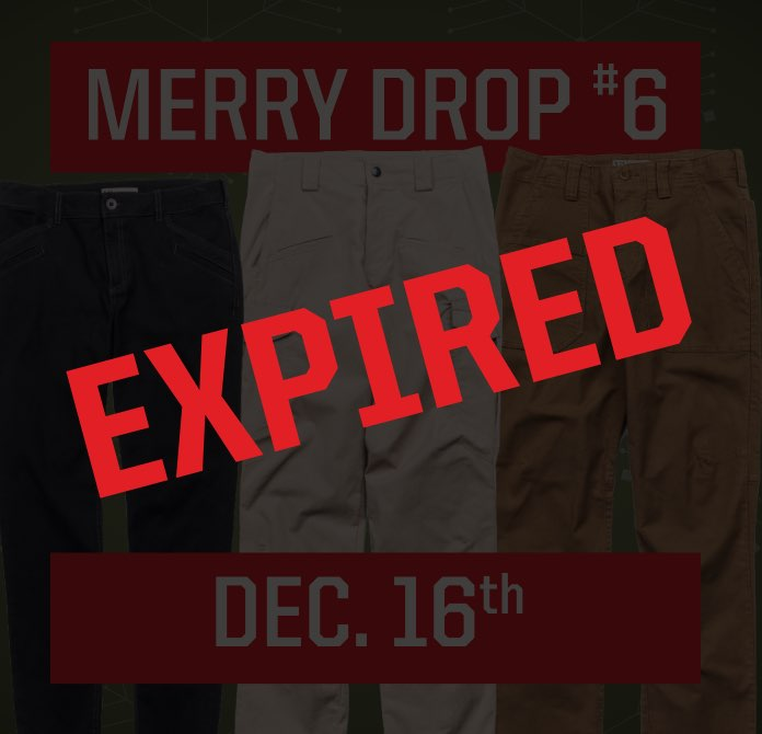December 16th Expired