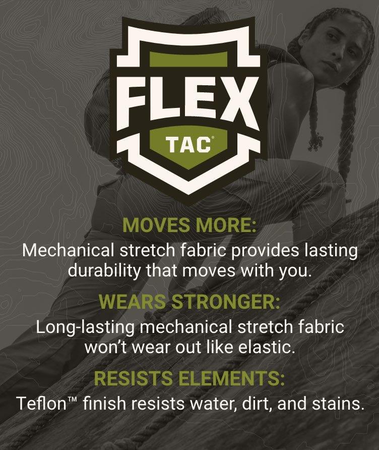 Flex-Tac | Moves More, Wears Stronger, Resists Elements