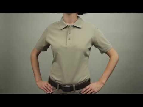 5.11 Women's Tactical Jersey Short Sleeve Polo