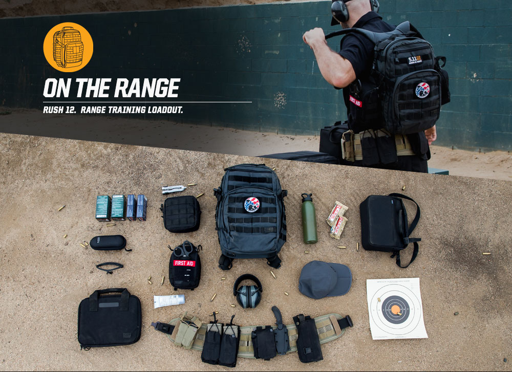 ON THE RANGE - RUSH 12. RANGE TRAINING LOADOUT.