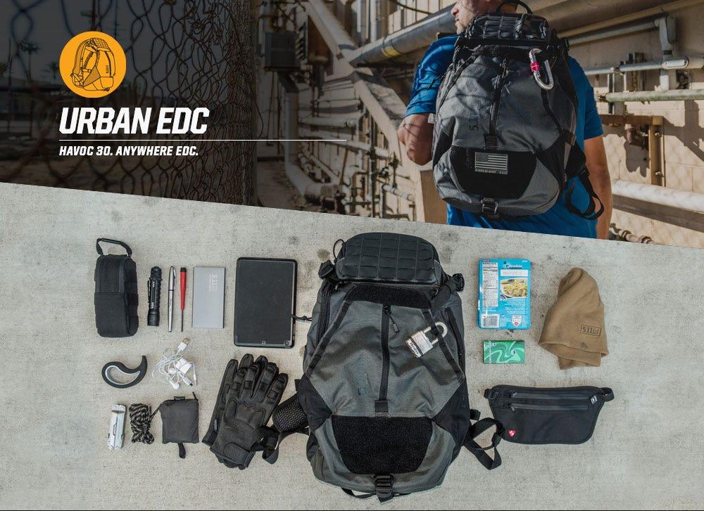 URBAN EDC - HAVOC 30. ANYWHERE EDC.